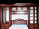 Кровать деревянная Флоренция (140*200) орех, фото 4
