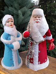 Игрушки Дед Мороз и Снегурочка под елку КОМПЛЕКТ 50 см