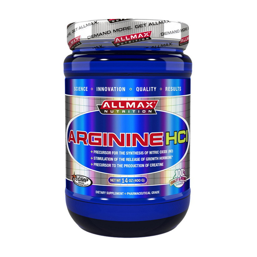 Аргинин All Max Nutrition Arginine HCL 400 g unflavored