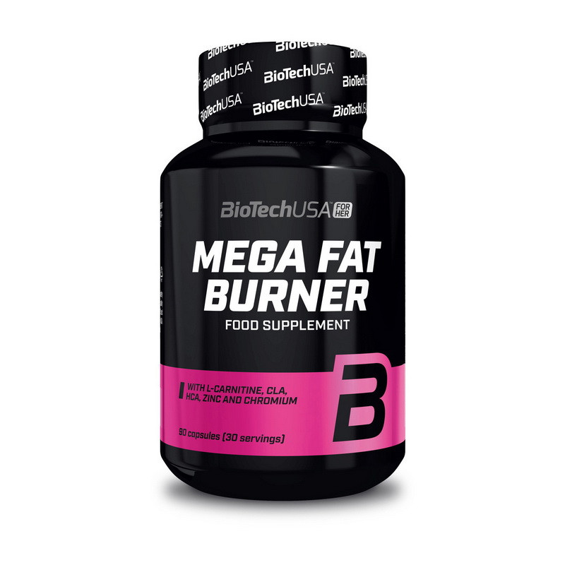 Жиросжигатель BioTech Mega Fat Burner 90 caps
