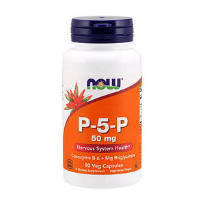 Пиридоксаль-5-фосфат NOW P-5-P 50 mg 90 caps