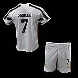 Детская футбольная форма ФК Ювентус Роналдо 2020-2021, фото 5