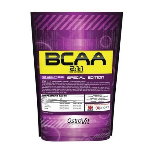 ВСАА Аминокислоты OstroVit BCAA 2-1-1 1 kg