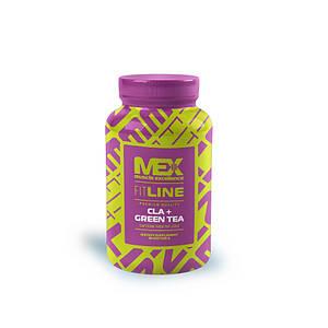 Конъюгированная линолевая кислота MEX Nutrition CLA + Green Tea 90 softgels