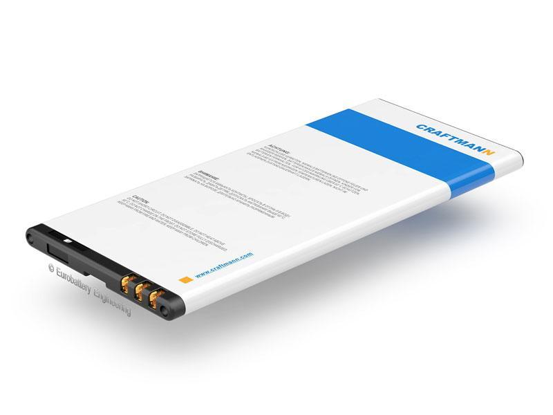Аккумулятор Craftmann BV-T3G для Microsoft Lumia 650 (RM-1154) (ёмкость 2000mAh)