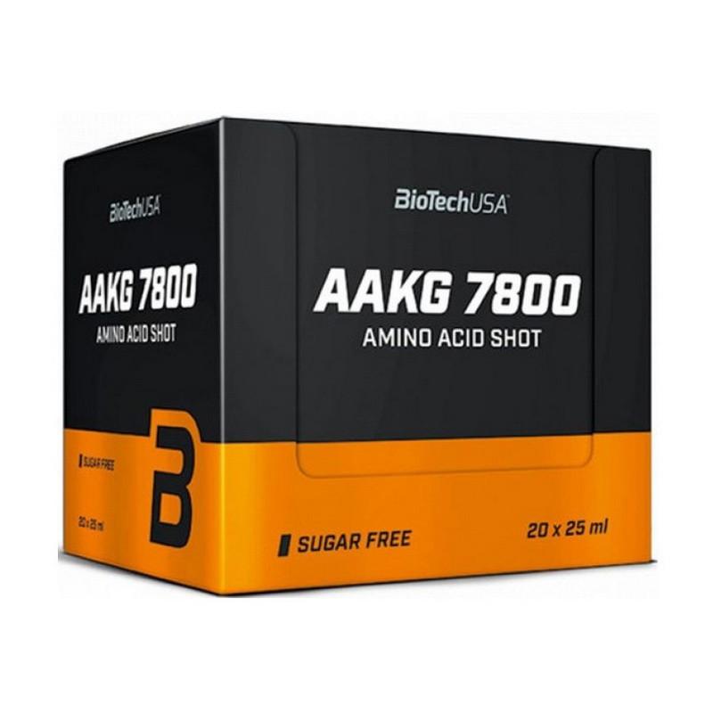 Aргинин BioTech AAKG 7800 20*25 ml