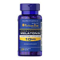 Мелатонин Puritan's Pride Melatonin 10 mg 120 caps