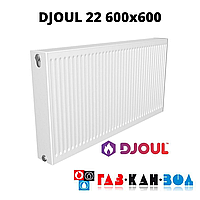 Радиатор стальной DJOUL 22 600x600