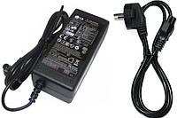 Блок питания для мониторов LG 19V 1.3A  (6.5*4.4 ) + сетевой кабель