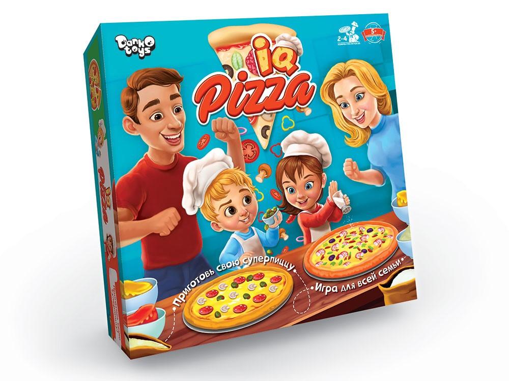 """Гра настільна Danko Toys """"IQ Pizza"""" (Укр) (G-IP-01)"""
