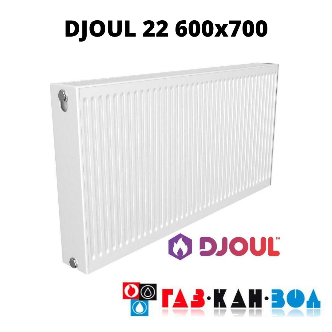 Радіатор сталевий DJOUL 22 600x700