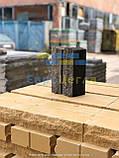 Облицовочный кирпич серый скала тычковой 220х100х65мм, фото 8