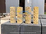 Облицовочный кирпич серый скала тычковой 220х100х65мм, фото 9