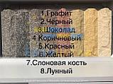 Облицовочный кирпич серый скала тычковой 220х100х65мм, фото 10