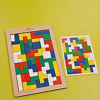 ТЕТРИС - деревянная игра для развития ребенка «Лёпа»