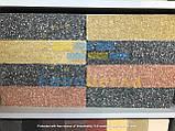 Фасадна цегла чорний колотий повнотіла, 250х100х65мм, фото 7