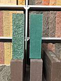 Фасадна цегла чорний колотий повнотіла, 250х100х65мм, фото 8