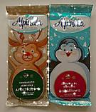 Шоколад Новогодний ALPINELLA BAKALIOWA с изюмом и орехами, фото 2