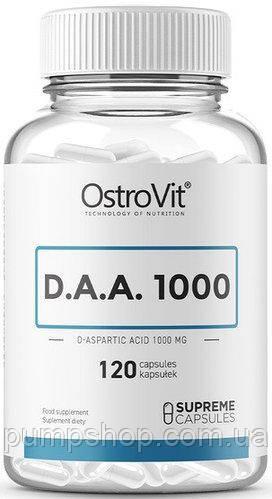 Д-аспаргиновая кислота OstroVit DAA 1000 120 капс.