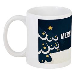 Кружка Merry Woofmas (белая)