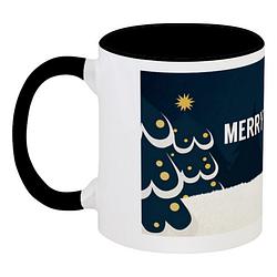 Кружка Merry Woofmas (чёрная)