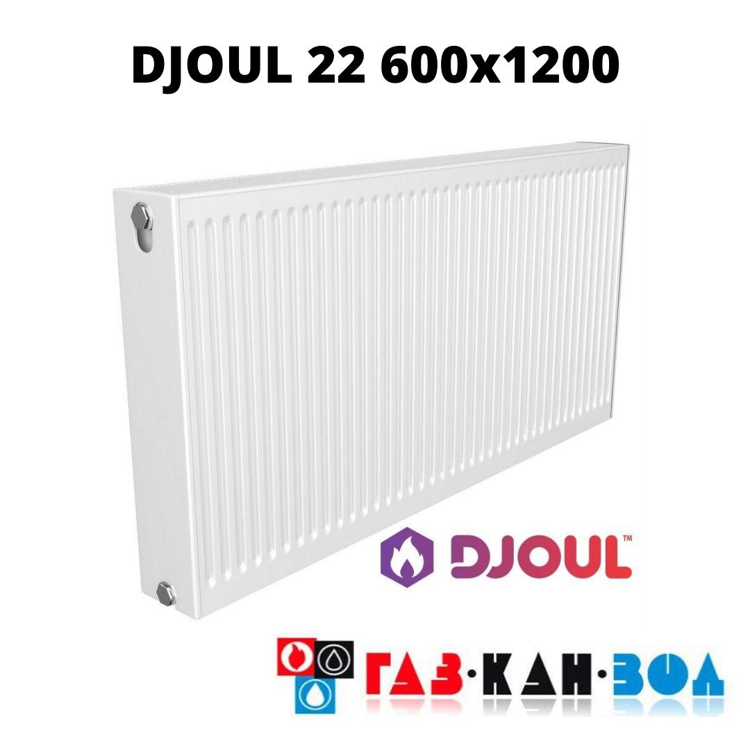 Радіатор сталевий DJOUL 22 600x1200