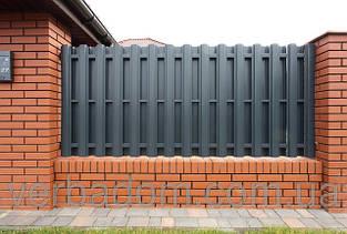 Штакетный забор (металлический) от производителя