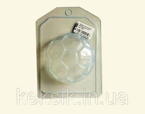 Пластиковый молд для шоколада Футбольный мяч