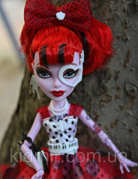 Лялька Monster High Оперета (Operetta) Вечірка в горошок Монстер Хай Школа монстрів