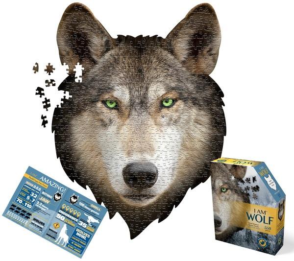 Пазл I AM  Волк (550шт)