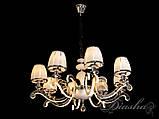Классическая люстра на 8 ламп с подсветкой рожков 8316/8HR, фото 3