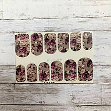 Слайдер дизайн для ногтей (водные наклейки на ногти)