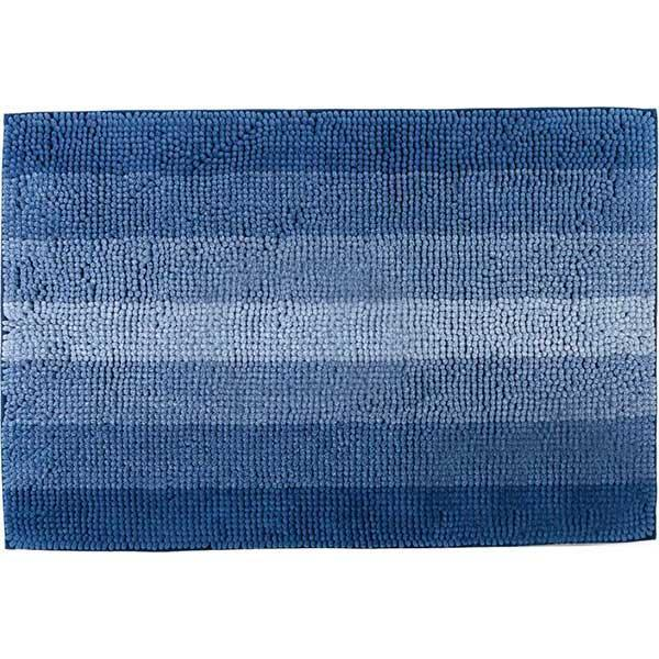 Коврик 90*60см в ванную Махрамат Dariana 5172 синий