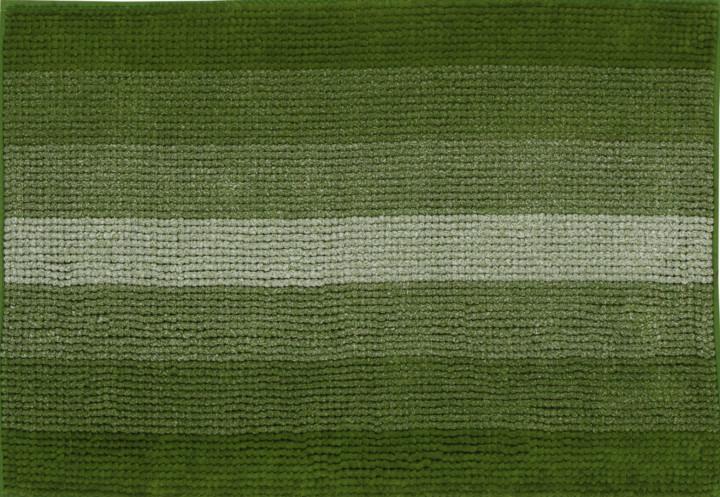 Коврик 90*60см в ванную Махрамат Dariana 5173 темно-зеленый