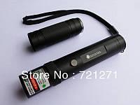 Мощный лазер, зеленый лазерный указатель 500 мВт