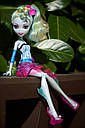 Кукла Monster High Лагуна Блю (Lagoona Blue) Вечеринка в горошек Монстер Хай Школа монстров, фото 7