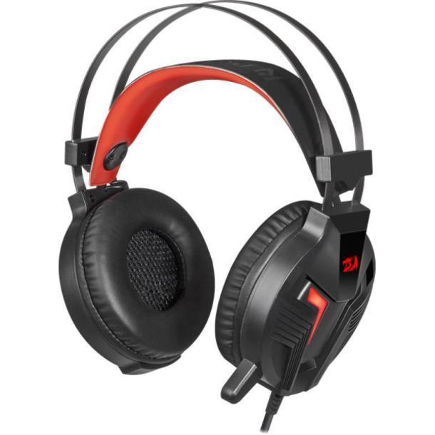 Наушники Redragon Memecoleous Black-Red Vibration (75096)
