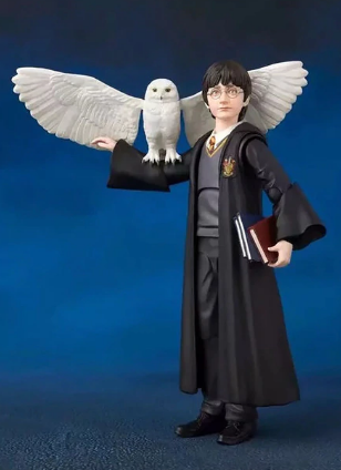 Коллекционная фигурка Гарри Поттера, Фигурка Harry Potter с аксессуарами, фото 2