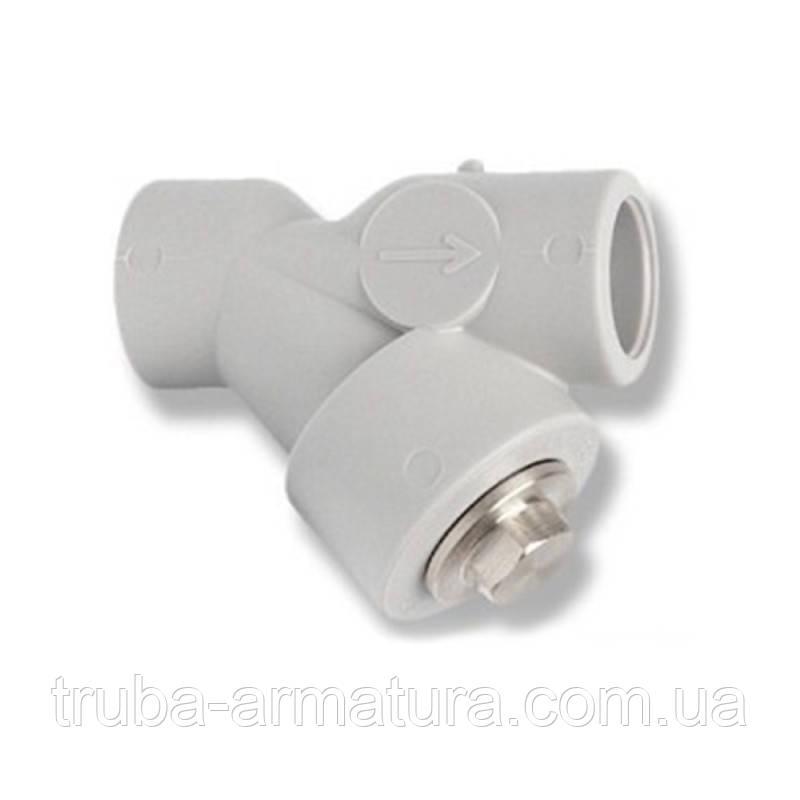 Фильтр грубой очистки воды полипропиленовый PPR Alfa Plast 25