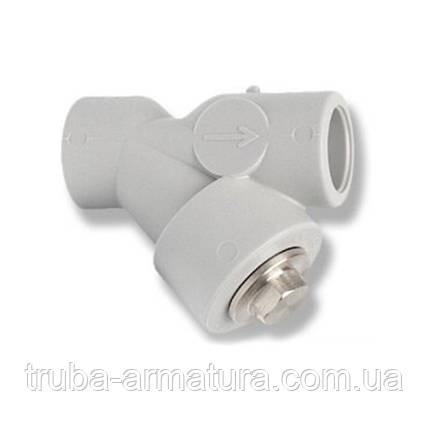 Фильтр грубой очистки воды полипропиленовый PPR Alfa Plast 25, фото 2