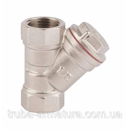 """Фільтр грубої очистки води латунний оцинкований SD Forte 1/2"""", фото 2"""