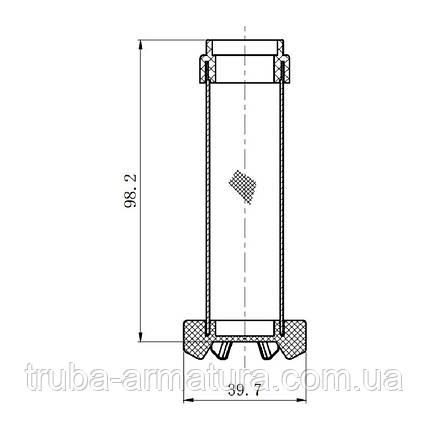 """Картридж фильтрующий SD Forte для самопромывного фильтра воды 1/2"""", 3/4"""", фото 2"""