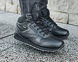 Мужские зимние ботинки Reebok Classic High, мужские зимние ботинки рибок чоловічі зимові черевики Reebok рібок, фото 2