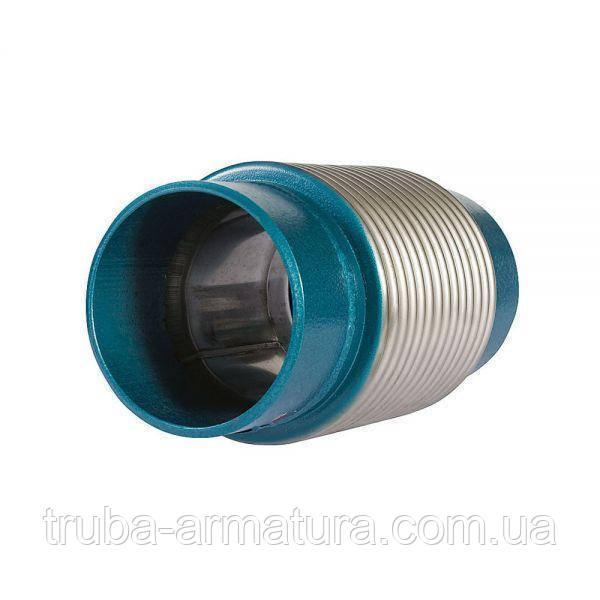 Компенсатор осевой приварной стальной, Ду 400 / L60 / PN16