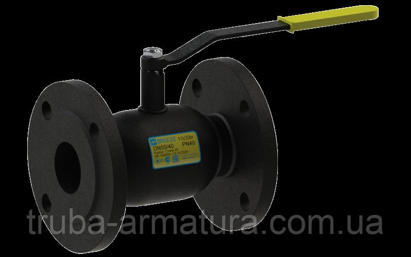 Кран шаровый стальной 11с33п Ду65/50 PN16