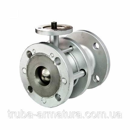 Кран шаровый стальной 11с941п Ду150/150 PN16 под электропривод, фото 2
