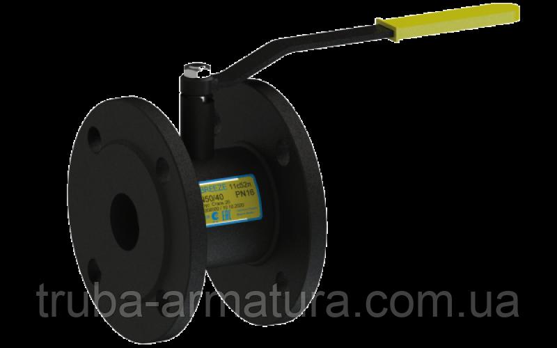 Кран шаровый стальной 11с52п Ду 15/10 стандартный проход PN16