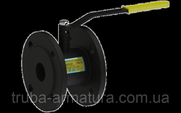 Кран шаровый стальной 11с52п Ду 15/10 стандартный проход PN16, фото 2