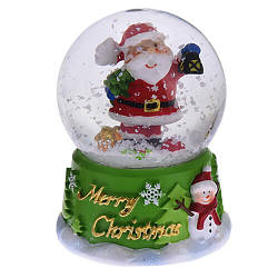 Водяний снігова куля Санта (мал.)