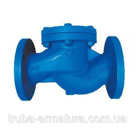 Обратный клапан подъемный фланцевый чугунный, Ду 65 / тарелка-нж сталь / PN16, фото 2